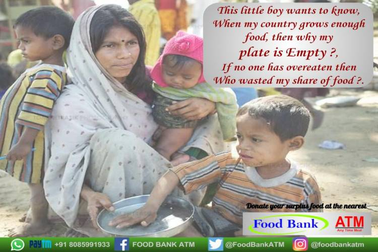 Help my Idea to eliminate FOOD WASTAGE & BEGGING FOR HUNGER, - story -8