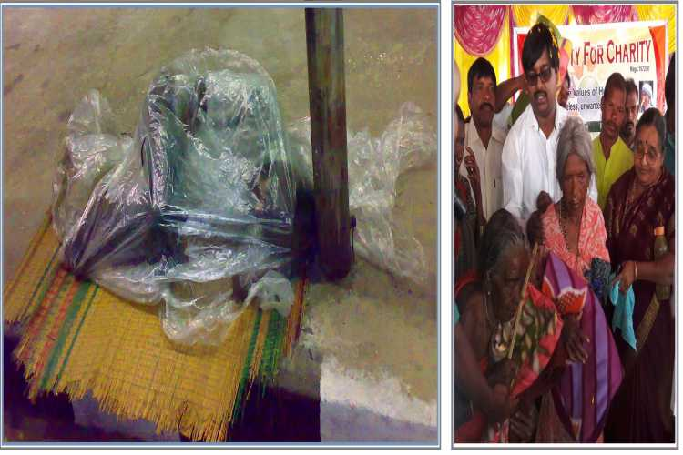 Blanket Distribution to Homeless and poor Senior Citizens - story -2
