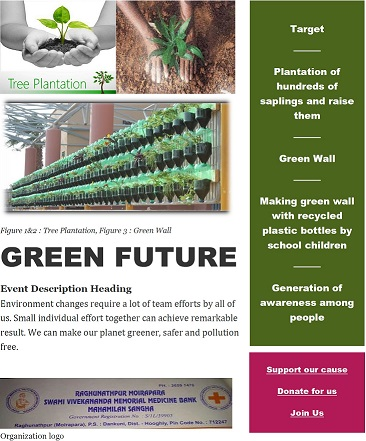 Help us to implement Green Future program - story -1