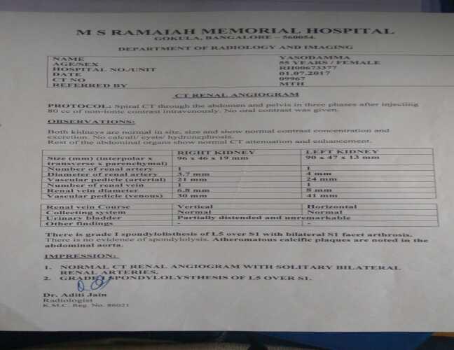 Help Manjunath For Kidney Transplant Surgery - story -2
