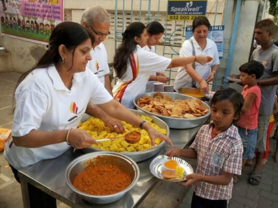 Diwali and Food Donation