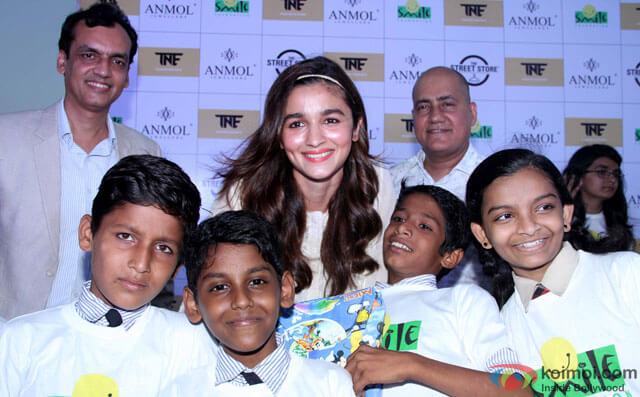 Alia and Smile Foundation