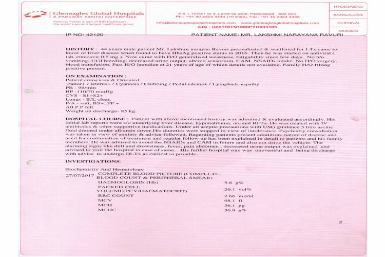 help laksmi narayana liver transplant - story -7