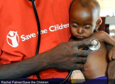 Save The Children and Nutrition.