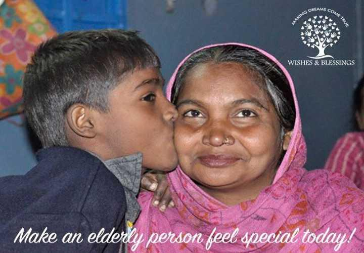 Support Wishes and Blessings Old Age Home - story -1
