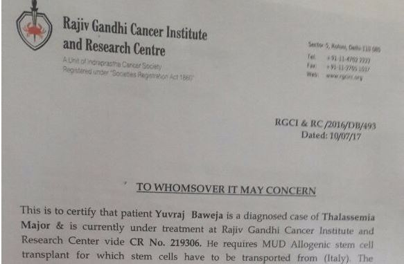 Need fund for YUVRAJ BAWEJA, suffering THALASSEMIA Major - story -1