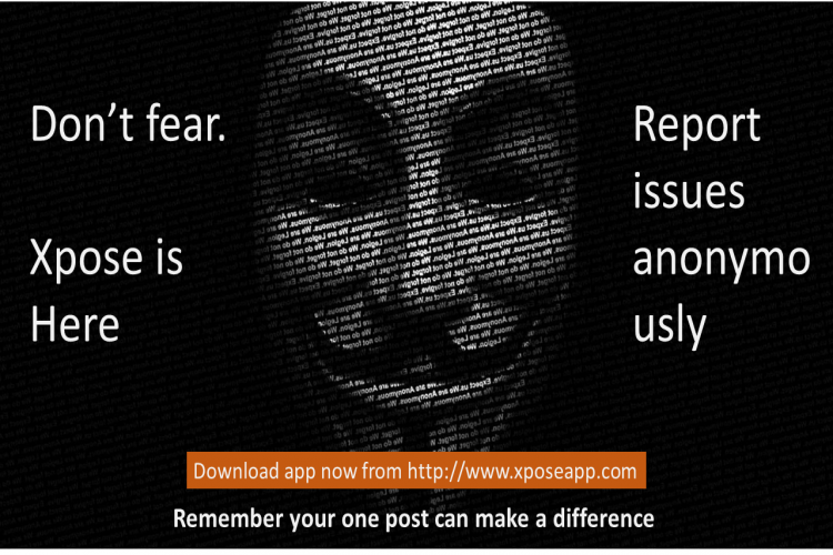 Raise your voice against corruption and crime anonymously. - story -4