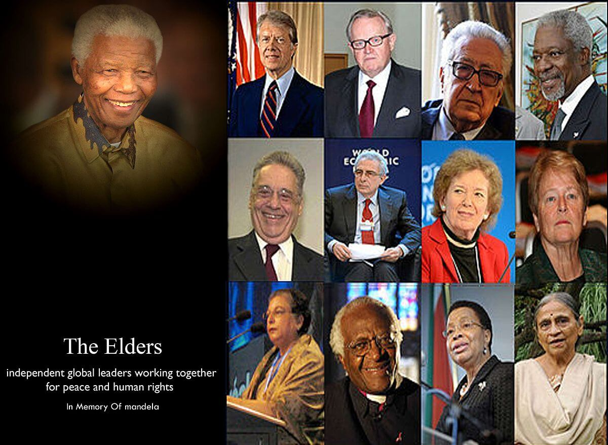 Nelson Mandela and The Elders IG