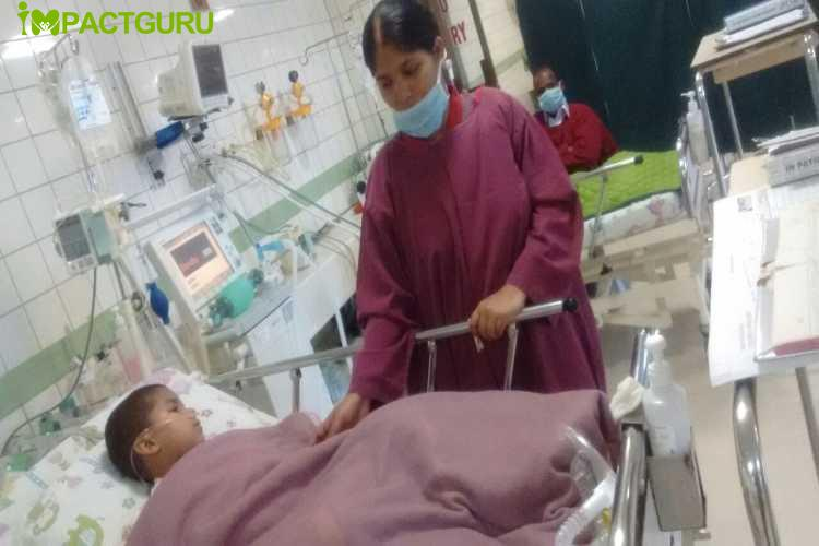 Help Baby Rajan fight a heart condition - story -4