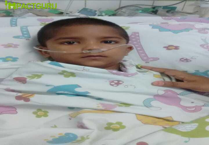 Help Baby Rajan fight a heart condition - story -3