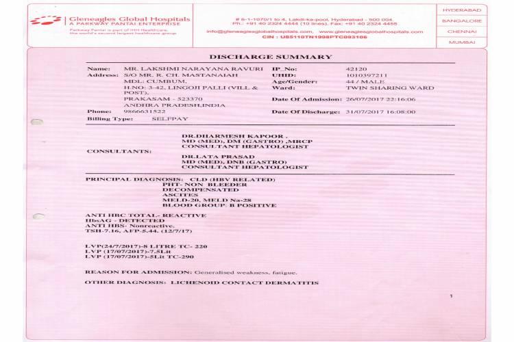 help laksmi narayana liver transplant - story -5