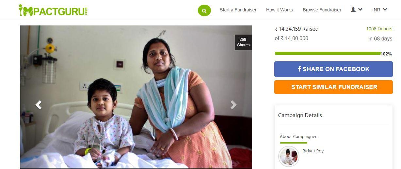 little-sampriti-fundraiser-story-impact-guru