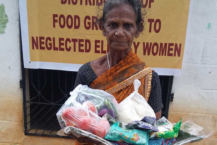 Impact Guru - Help to provide food groceries to neglected elders