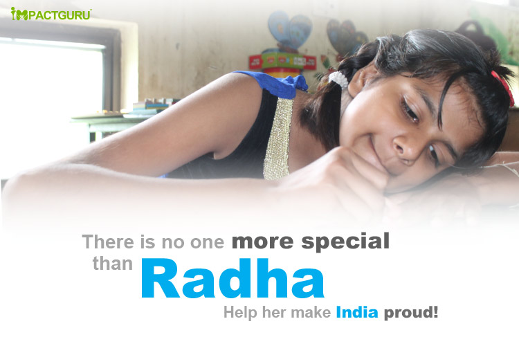 Impact Guru - Help Radha make India proud!