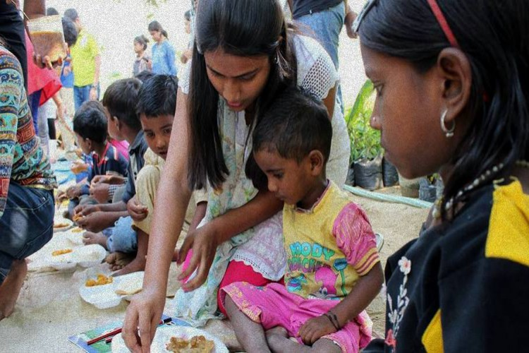 Lets bring food to those who cant afford their meal: Help us create a new India