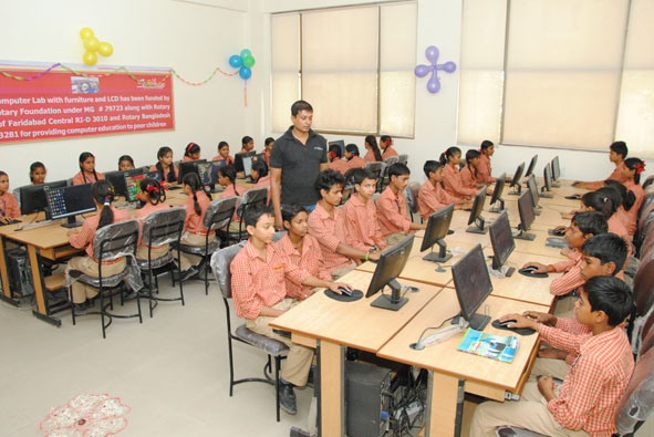 Providing 100% Free @ quality education with incentives skill development with placement.