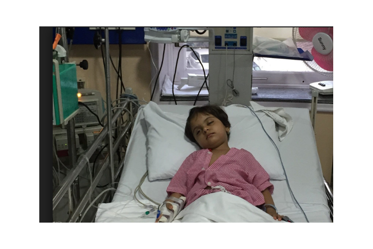 Aaradhya's post operative care