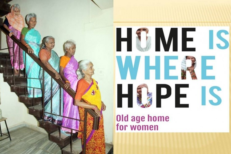 HOME of HOPE support the old age home