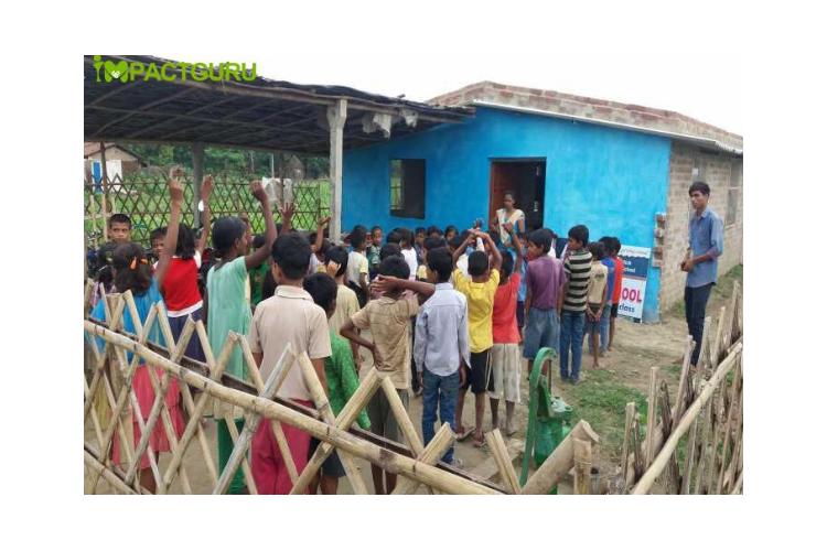 Help   us to build community school for helpless children