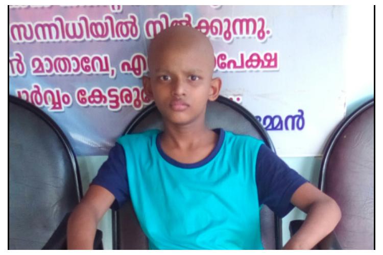Help 12 years old kid to fight bone cancer and walk again