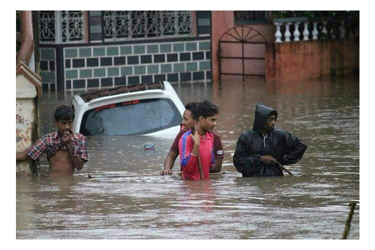 For flood victim's in Kishanganj bihar