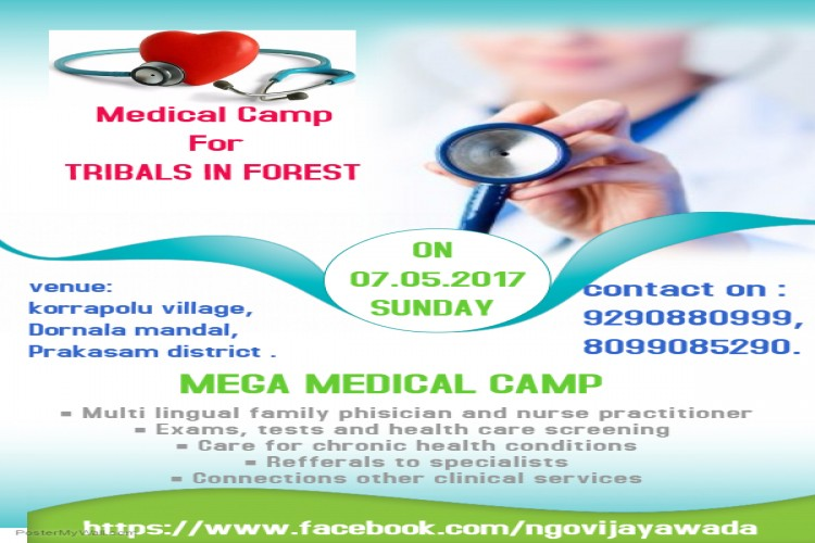 MEDICAL CAMP FOR TRIBALS IN NALLAMALA FOREST
