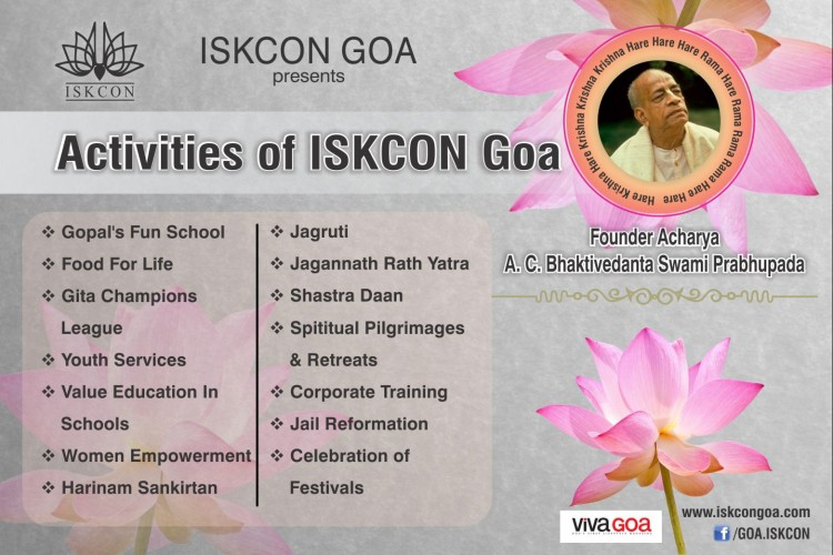 Fundraising to Support ISKCON Activities at Panaji Goa