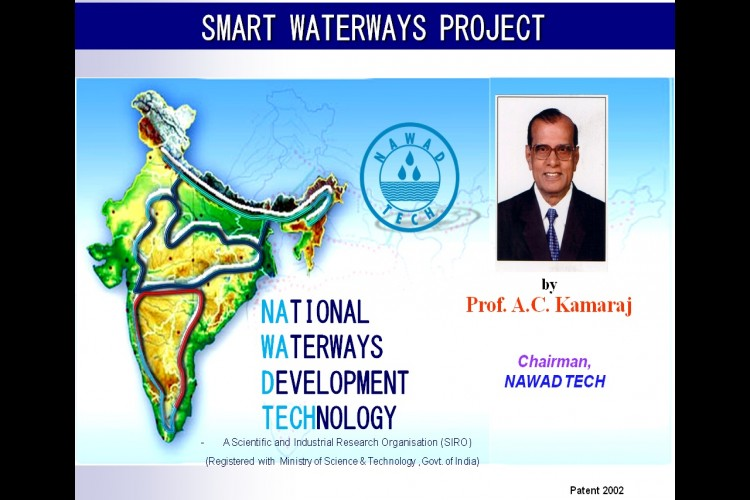 Smart Waterways for Networking of Rivers