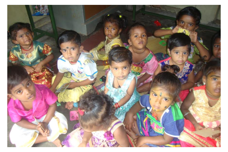 Help New Life in running creche for 40 children