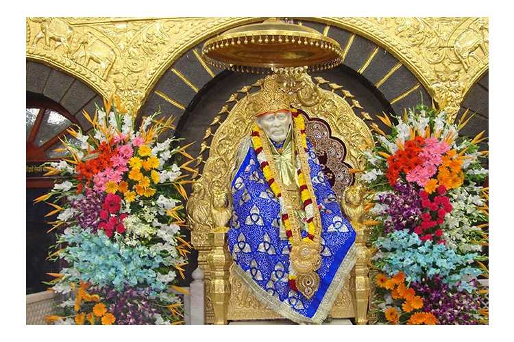 Raising conributions for construction of Sai Baba Temple