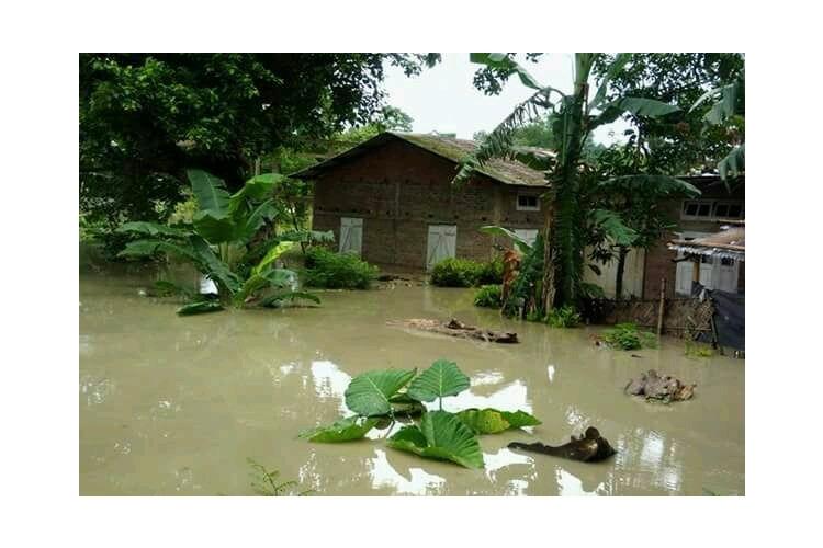 Support for deaf children in  Assam  Floods