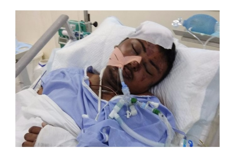 Help Sushanth to recover from major Accident