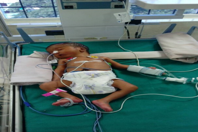 Need help to save my son with respiratory problem