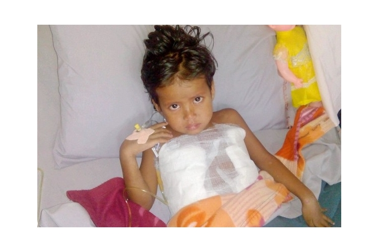 Help Risahun a 5 years old poor child fighting Skin Disease,