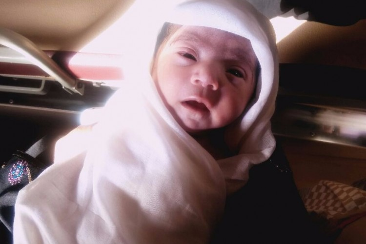 Baby Girl Born by SVM Single Ventricular Defect