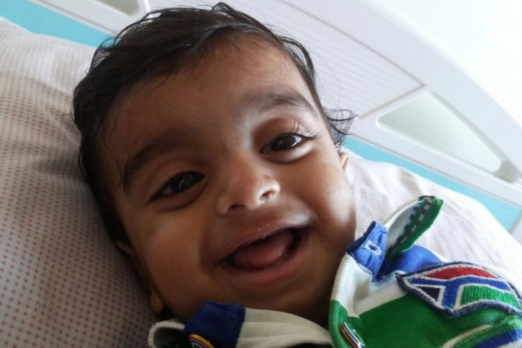 Help 1 year old Rudhra from Kolkata to fight Brain Cancer