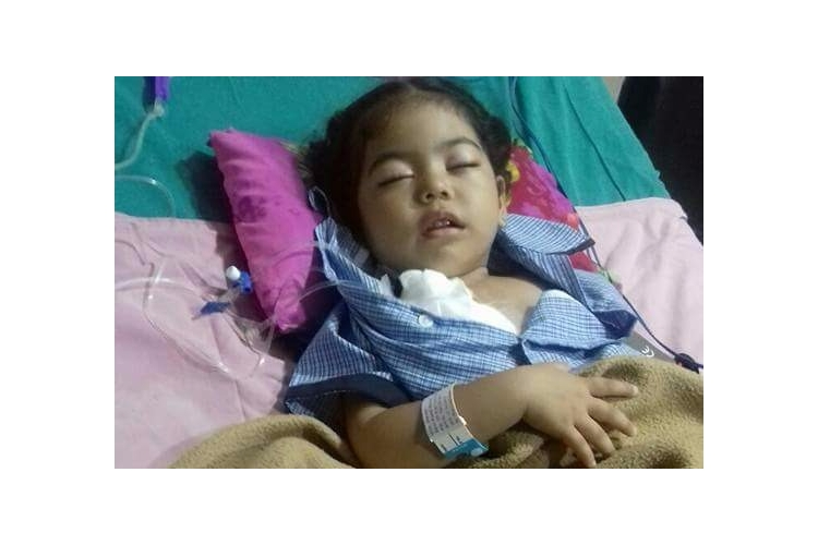 Help fund Zelina, 3 yr baby girl suffering from blood cancer