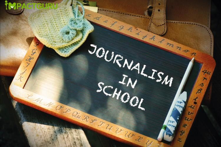 Raising fund for Promoting Journalism in Schools