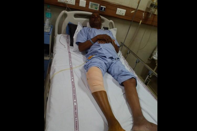 Help Fund for Jaywant Baad Total Knee Replacement Surgery