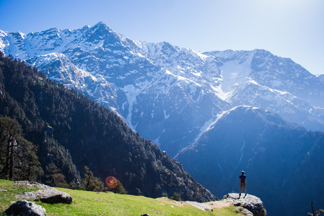 my childhood dream to travel to the himalayas.