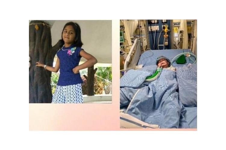 Help Fund Aksharas Brain Tumor Treatment
