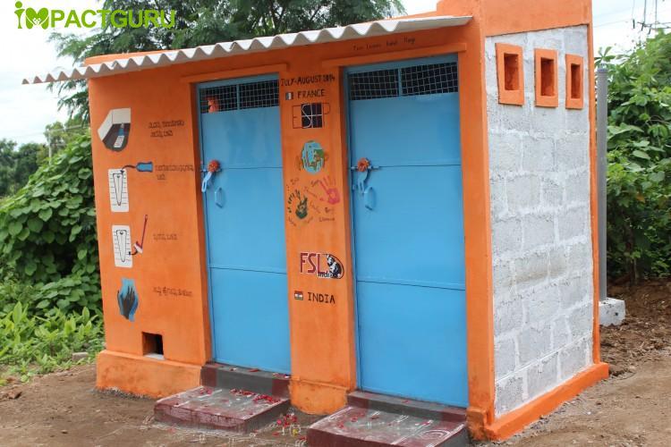 Toilet Construction for Tribals - Balenahalli, Karnataka