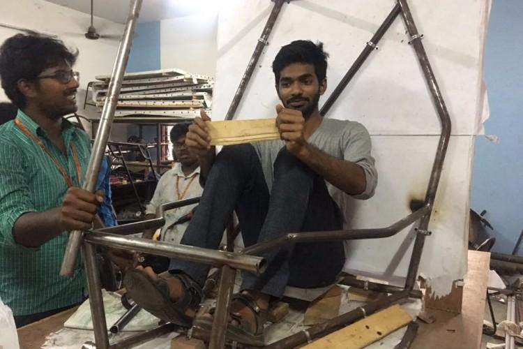 Help us in building our ATV for SAE INDIA BAJA 2018