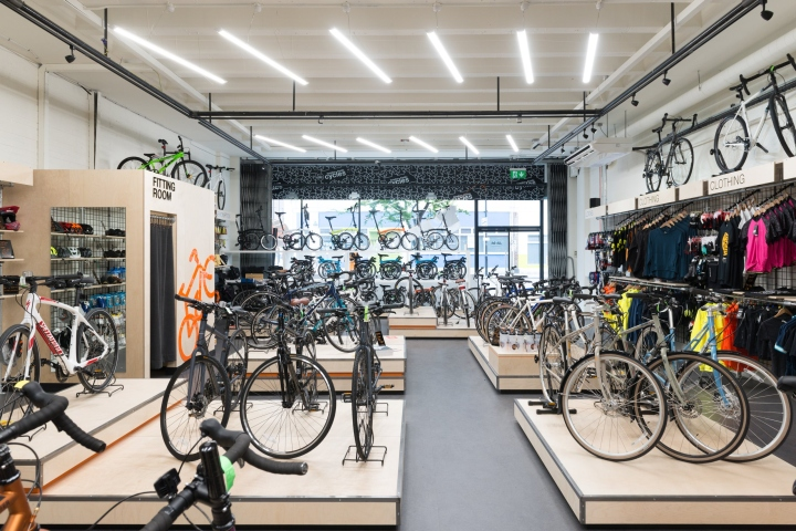 Retail showroom for high end Ranger Bicycle