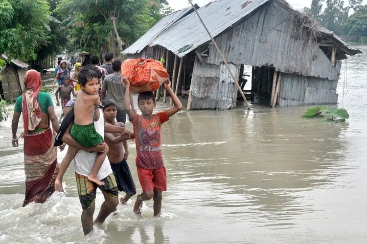 Rehabilitation of flood victims & their employment