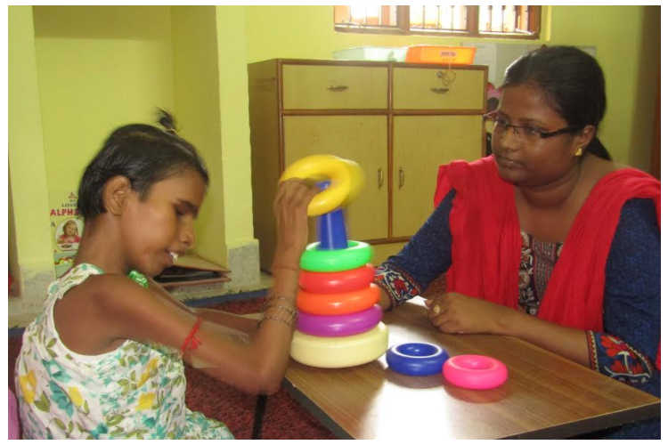 Help 30 deaf blind children access development skills