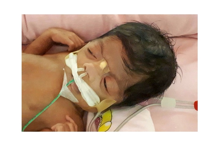 Save 3 month old Samaira