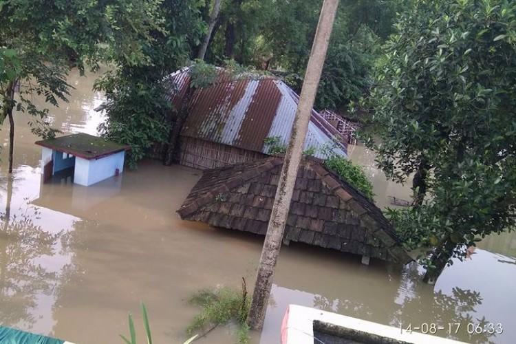 Raising fund for Bihar flood