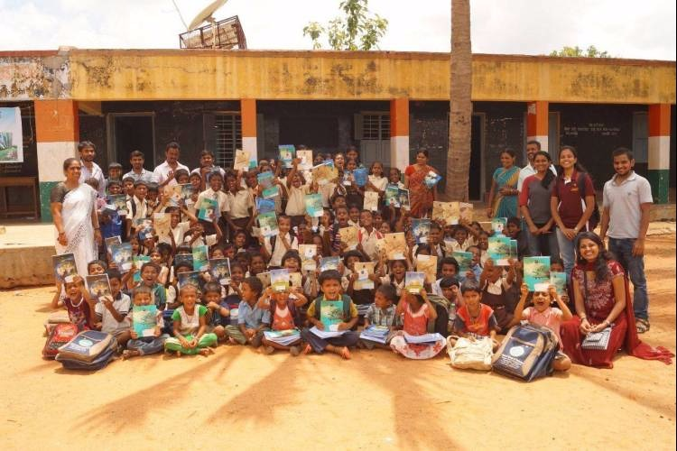 Raising fund for rural poor childrens education