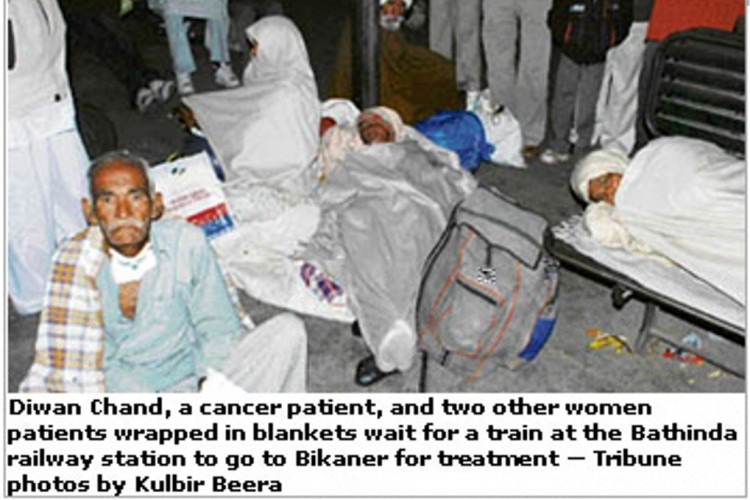 Help my NGO that helps fight cancer  in Malwa , Punjab